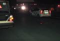 В Николаеве полицейский на Mercedes сбил пешехода. Видео