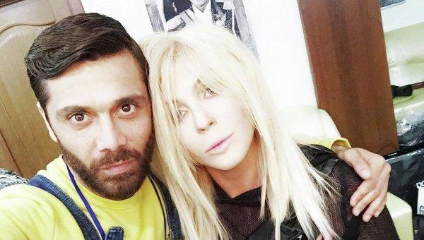 Аслан Ахмадов и Ирина Билык. Архивное фото