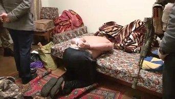 Оперативное видео: задержание диверсантов в Киеве
