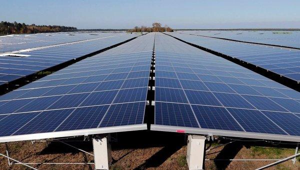 Вокруг саркофага вЧернобыле построят солнечную электростанцию на1 Мегаватт