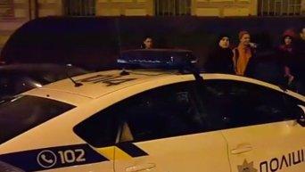 Стрельба в центре Киева: кадры с места инцидента