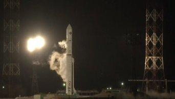 Старт российско-украинской ракеты с Байконура. Видео