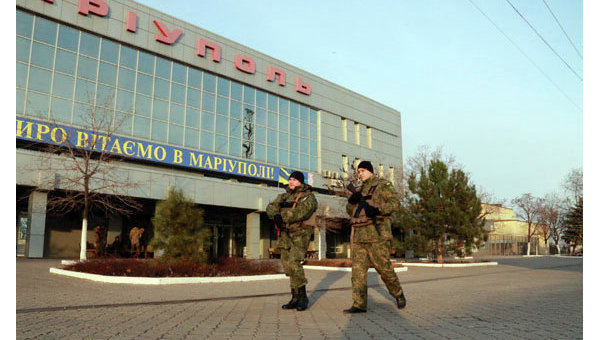 Полиция в Донецкой области. Архивное фото