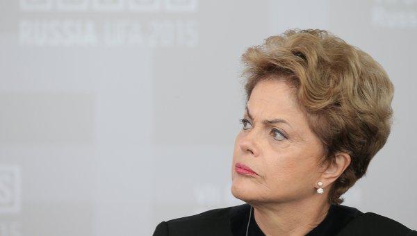 Президент Федеративной Республики Бразилия Дилма Роуссефф