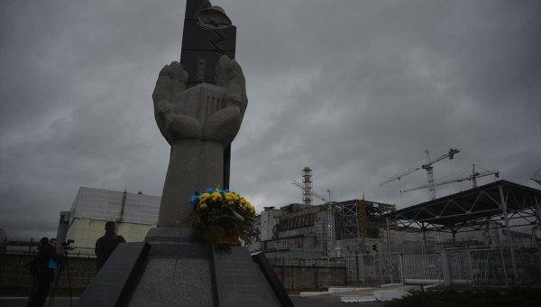 Чернобыльская АЭС. Архивное фото