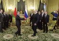 Встреча Владимира Путина и Александра Лукашенко в Кремле. Видео