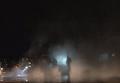 Ночной пожар на АЗС в Днепропетровске. Видео