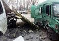 На месте взрыва на СТО в Красноармейске