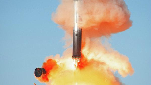 Запуск космического аппарата TERRA SAR-X