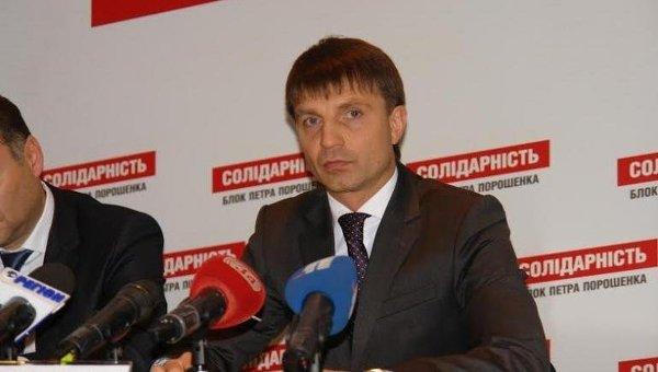 Глава Днепропетровского областного совета Глеб Прыгунов