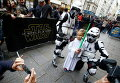 Премьера Star Wars: The Force Awakens в кинотеатре Grand Rex в Париже