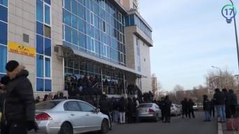 Обыски в офисе Украинской национальной лотереи в Киеве. Видео