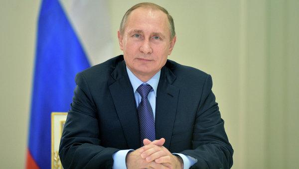 Путин в косметике