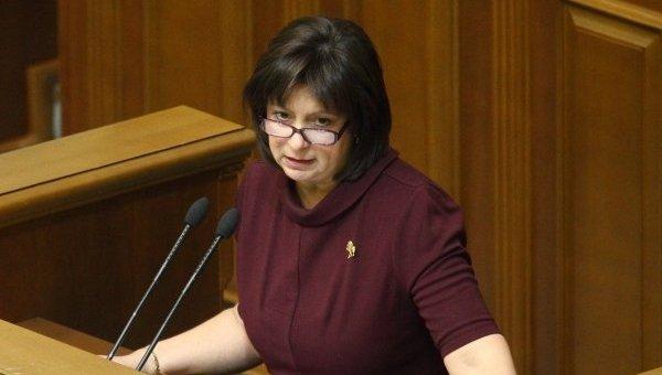Наталия Яресько в Раде. Архивное фото