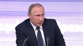 Владимир Путин о ситуации в Донбассе и возможности обмена пленными