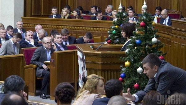 Внеочередное заседание Верховной Рады 17 декабря 2015 года