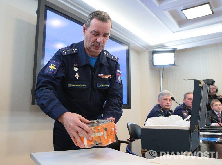 Началась расшифровка черных ящиков СУ-24М, сбитого 24 ноября 2015 года над Сирией