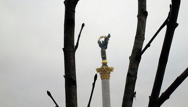 Монумент Независимости Украины на Майдане в Киеве