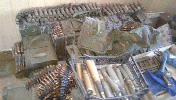 В Мариуполе задержаны 17 человек с большим арсеналом оружия