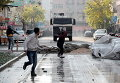Акция протеста против комендантского часа в Турции. Архивное фото
