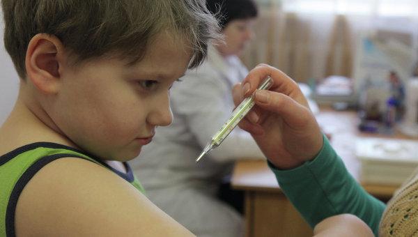 Работа детской поликлиники. Архивное фото