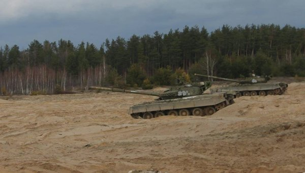 Наобщевойсковом полигоне погибли двое украинских военных