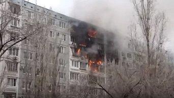 Взрыв в жилом доме в Волгограде