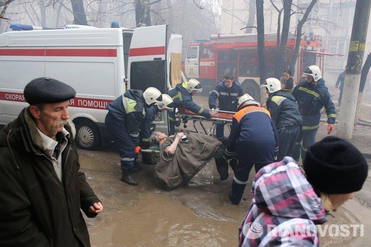 Наместе взрыва вВолгограде обнаружили тела 5-ти погибших