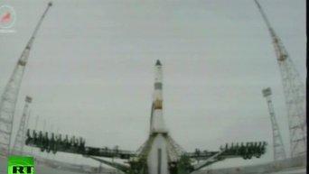 Запуск первого корабля новой серии Прогресс МС. Видео