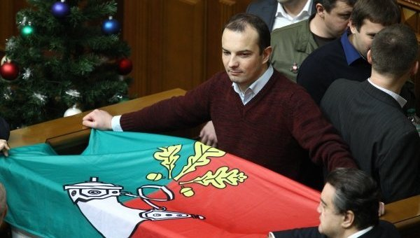 Депутаты Рады заблокировали трибуну с требованием рассмотреть вопрос назначения внеочередных выборов мэра Кривого Рога