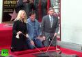 Тарантино получил звезду на Аллее славы в Голливуде. Видео