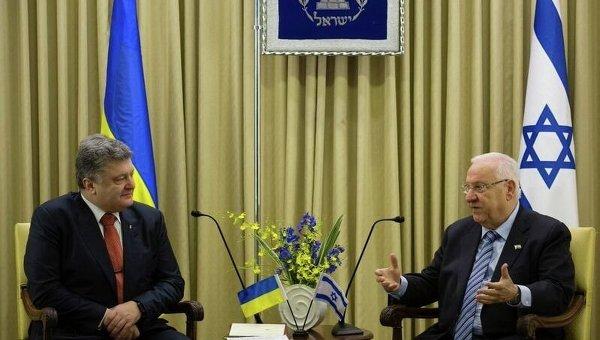 Администрация Порошенко сообщила о запланированном визите президента в Израиль