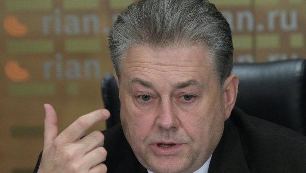 Пресс-конференция посла Украины в РФ Владимира Ельченко