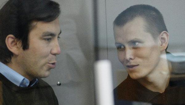 Заседание суда по делу россиян Ерофеева и Александрова в Киеве