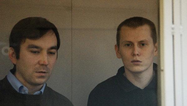 Заседание суда по делу россиян Ерофеева и Александрова в Киеве. Архивное фото