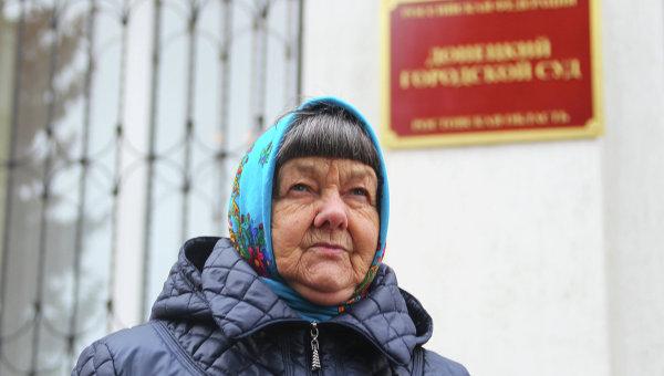 Мать Надежды и Веры Савченко Мария Савченко