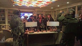 Обыски в квартире Геннадия Корбана в Днепропетровске