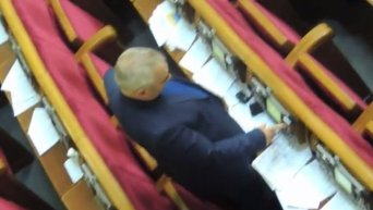 Кнопкодавство в Верховной Раде за голосование по проекту бюджета на 2016 год