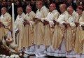 Рождественская месса в базилике Святого Петра Ватикане