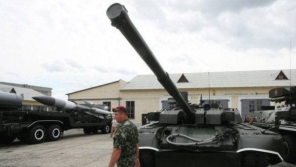 Танк Т-84У Оплот