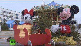 Как встречают Рождество беженцы в Кале