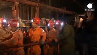 Обвал шахты на востоке Китая