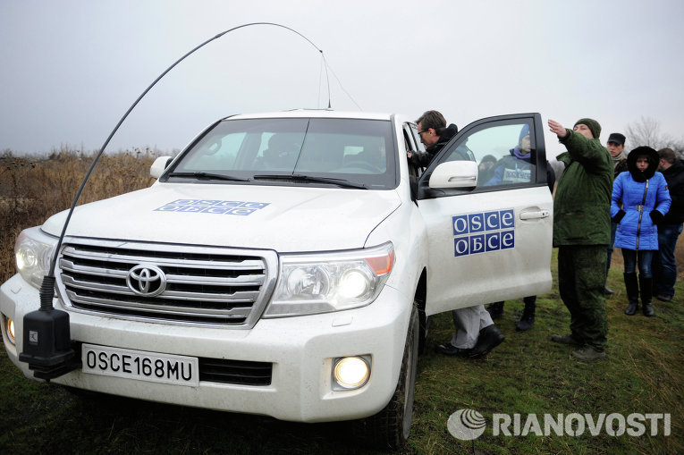 Миссия ОБСЕ в районе Коминтерново