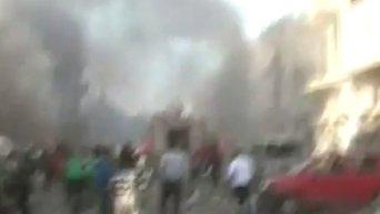 Тройной теракт в сирийском Хомсе