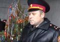 Спасатели показали, как потушить новогоднюю елку