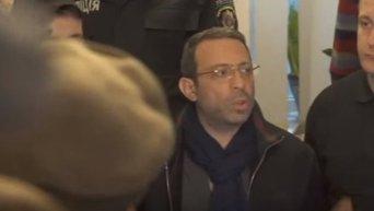 Заявление Корбана после решения суда о его аресте. Видео