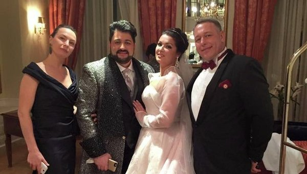 Свадьба Анны Нетребко и Юсифа Эвазова