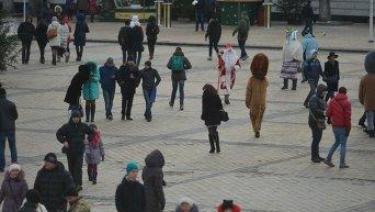 Киев готовится встретить Новый год