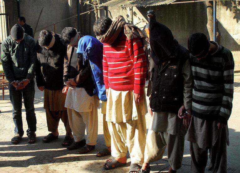 Пакистанцы, подозреваемые в связях с ИГ