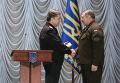 Назначение Юрия Аллерова (справа) командующим Нацгвардии Украины